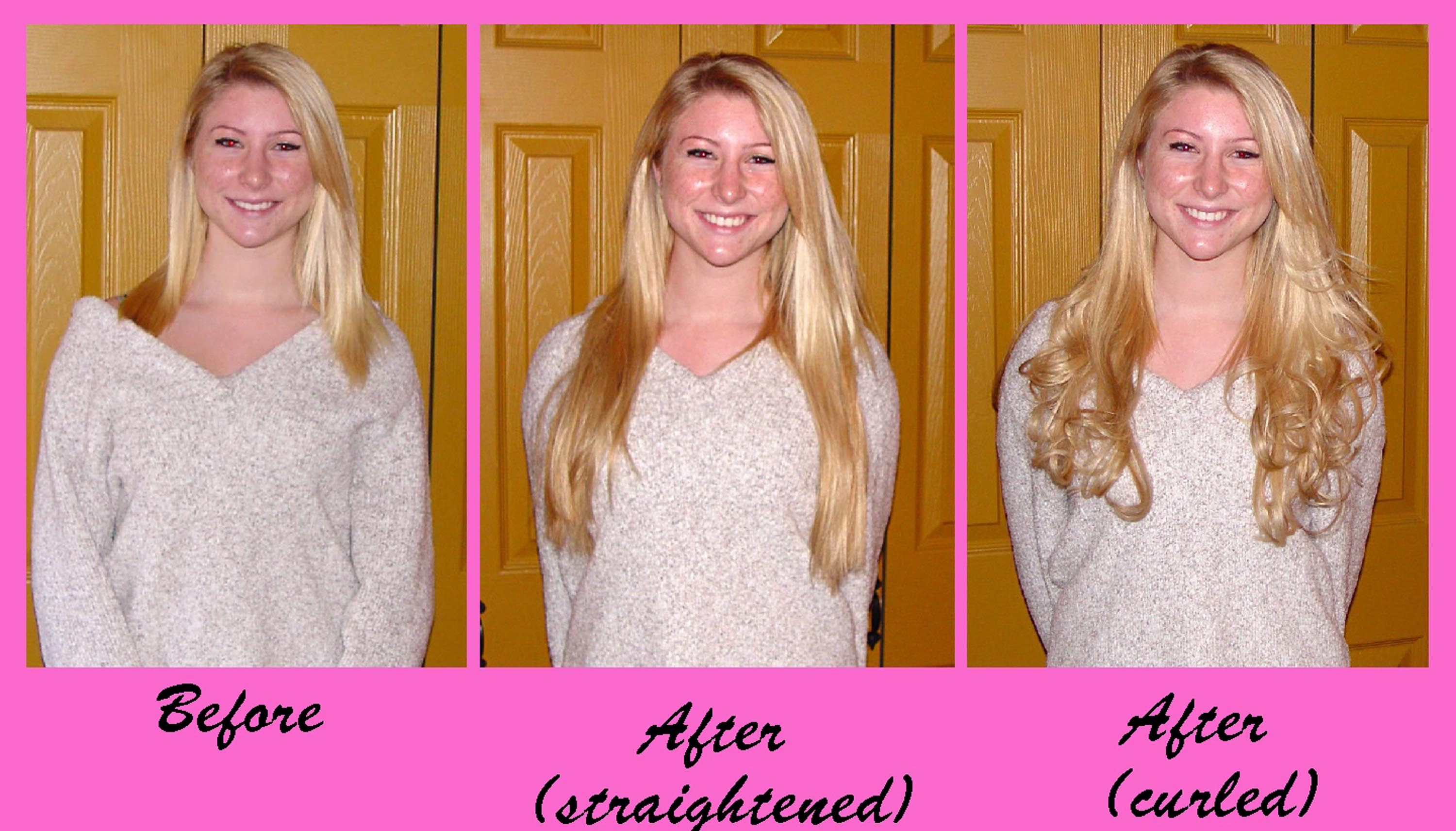 Beforeafters photos this client has tried over the counter clip in extensions but felt they were pmusecretfo Gallery